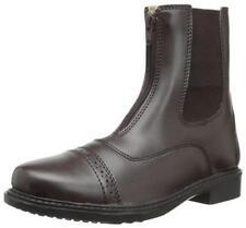 TuffRider Women's Starter Front Zip Paddock Boots, Mocha, 9
