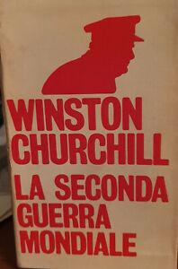 WINSTON CHURCHILL -LA SECONDA GUERRA MONDIALE -12 VOL. - Oscar Mondadori