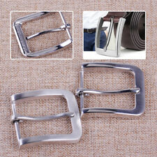 New 304 Stainless Steel Pin Buckle for Men Leather Belt Replacement Snap On 40mm