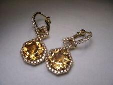 Drop/Dangle Yellow Gold 18k Fine Earrings
