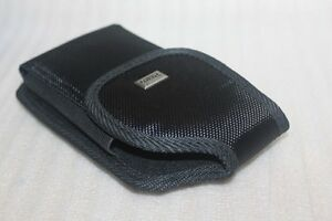 Black Nylon Belt Clip Holster Case Pouch BELT LOOP FIT WITH OTTERBOX ARMOR CASE
