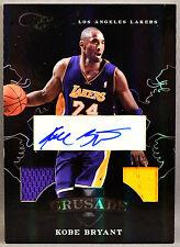 10-11 Panini Elite Black Box Kobe Bryant DUAL NBA JERSEY AUTO #5/25 2010 2011