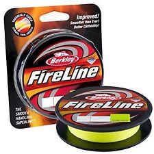 Berkley Fireline Fused Original Beading Thread 125yd Braided Flame Green Line