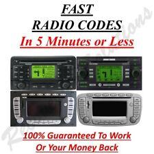Ford Blaupunkt TravelPilot FX ne EX Radio Unlock Code
