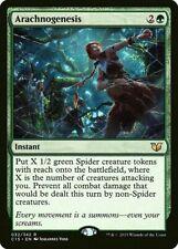 Arachnogenesis NM/SP Commander MTG Magic The Gathering Green English Card