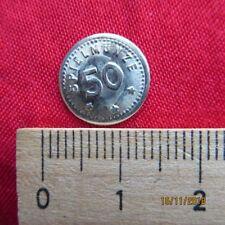 Token Marke - Spielgeld 50 Pfennig Spielmünze