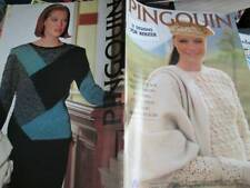 Pingouin Knitting Book #120 -31 Ladies Winter Designs All Shown