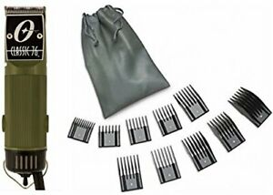 New Oster Classic 76 Olive Green Color Limited Edition Hair Clipper+10 PC Comb