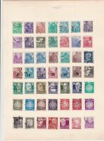 germany 1950s stamps page ref 17543