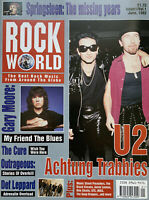 Rock World Issue1 June 1992, U2, Queen, Gary Moore, The Cure, Def Leppard, INXS