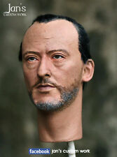 1/6 CUSTOM Jean Reno leon the professional hot toys figure head sculpt enterbay