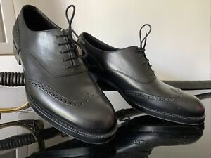 Chaussures FRATELLI ROSSETTI Richelieu Homme Tout Cuir Noir T 7 40.5 Comme Neuf