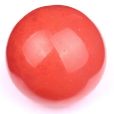 30MM Tumbled Cherry Quartz Carved Crystal Sphere Ball Stone Crafts