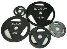 """CAP Barbell Olympic 2"""" Grip Plates 2.5, 5, 10, 25, 35 OR 45 LB Weights CHOOSE LB"""