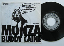 "7"" Buddy Caine - Monza / Die Andre Sonne - VG++ Autogramm - Peter Orloff"