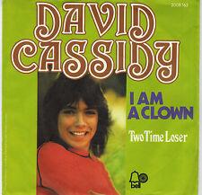 "7"" David Cassidy – I Am A Clown ,Near Mint,Germany 1972,Bell Records 2008 163"
