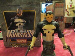 """Buste Figurine The Punisher Marvel Bowen Design 6"""" 15cm échelle 1/8 2004 Comics"""