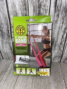 NEW Gold's Gym 6' Stretch Band Light Resistance 18
