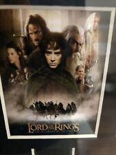 Lord Of The Rings 35 mm Film Cels. One From Each Of The Trilogy. Coa Attached.