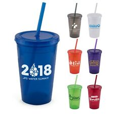 Personalized Explore 16 oz. Double Wall Tumbler Printed with your Logo - 60 QTY
