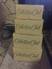 Longaberger Collector's Club Harmony Baskets Set of 4