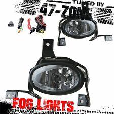 Clear Lens Chrome Housing Fog Light Kit With Wiring Fits 2010-2011 Honda CR-V