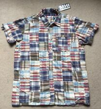 Maharishi MHI PatchWork Cotton Short Sleeve  Shirt BNWT