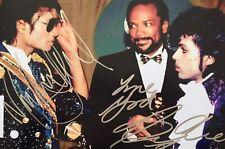 Michael Jackson & Prince Authentic Signed Photo
