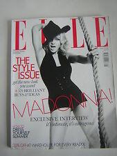 Elle UK Fashion Magazine May 2008 Madonna,Collectors Edition, Christina Ricci
