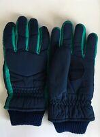 Vintage 80/90s Blue Thinsulate Waterproof Ski Snow Snowboard Warm Sports Gloves