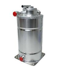 Motamec 2 Gallon Alloy Dry Sump Oil Tank - De-Aeration Head