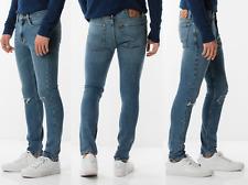 Levis 510 Skinny Fit Stretch Mens Jeans DISTRESSED 33x34 W33/L34 #5100794