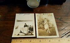 Vintage Photographs 1920's Women Fashion Clothes Style Black  White snapshot