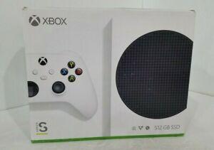 Microsoft Xbox Series S (white) 512GB Video Game Console.