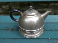 Vintage 1930's Solid Copper Plated Teapot