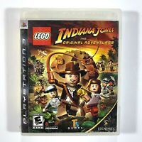 Lego Indiana Jones The Original Adventures Playstation 3 Game With Case