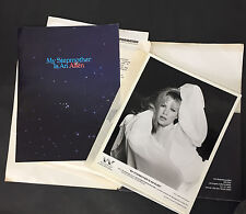 KIM BASINGER Vtg Movie Press Kit & 8 Photos My Stepmother Is An Alien