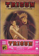 TRIGUN COLLECTOR'S EDITION DVD BOX 3 EPISODI 16-22 NUOVO BLISTERATO