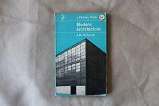 Modern Architecture J.M. Richards - Pelican Books