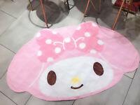 My melody big bowknot foot pad door mat non-slip pads ground mats rugs fashion