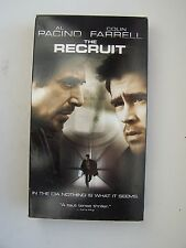 The Recruit VHS Video Tape Al Pacino Colin Farrell