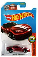 2016 Hot Wheels #22 HW Digital Circuit '11 Corvette Grand Sport Treasure Hunt