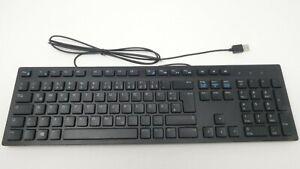 Dell PC Desktop USB Wired Black GERMAN Keyboard - MGRVG