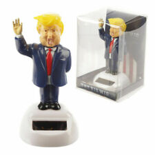 NOVELTY SOLAR POWERED DANCING PRESIDENT DONALD TRUMP, DASHBOARD TOY, HOME OR CAR