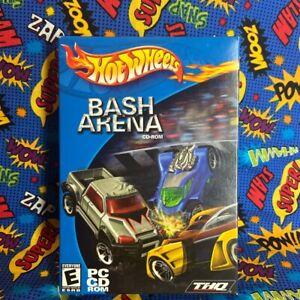 Hot Wheels: Bash Arena CD-ROM (PC, 2002) PC NEW SEALED BIG BOX