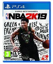 NBA 2K19 VIDEOGIOCO PS4 GIOCO UFFICIALE NBA PLAY STATION 4 ITALIANO 2K18 2019