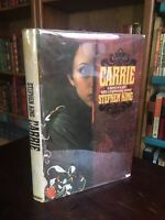 Carrie By Stephen King 1st Edition Vintage Hardcover