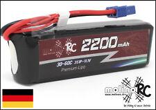 1x molinoRC * BRD * Akku 2200mAh 3S 30C - 60C EC3 NEU Lipo 11,1V EC3