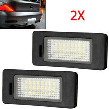 2x Car License Plate Light bulb Canbus White LED for BMW E39 E60 E90 F30 E92 X5