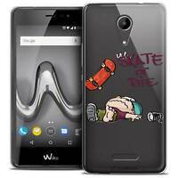"""Coque Gel Pour Wiko Tommy 2 (5"""") Extra Fine Souple BD 2K16 Skate Or Die"""